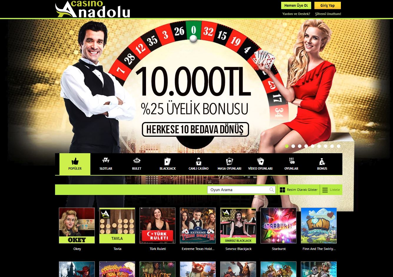 Anadolu Casino İnceleme 2021